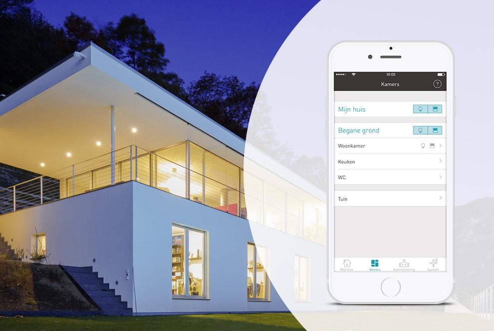 enet smarthome clerx elektrotechniek. Black Bedroom Furniture Sets. Home Design Ideas